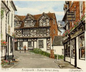 Bridgnorth-Bishop Percy's Hse. by Glyn Martin