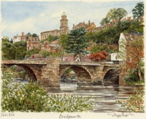 Bridgnorth-St.Mary's Ch.& Br. by Glyn Martin