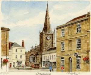 Chippenham - Marketplace by Glyn Martin