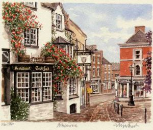Ashbourne - Victoria Square by Glyn Martin