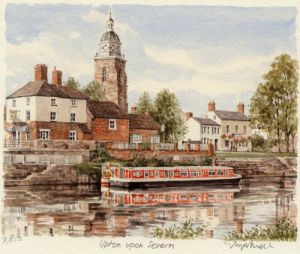 Upton-on-Severn by Glyn Martin