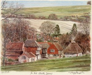 In the Chalk Downs by Glyn Martin