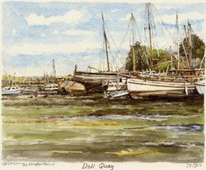 Dell Quay by Philip Martin