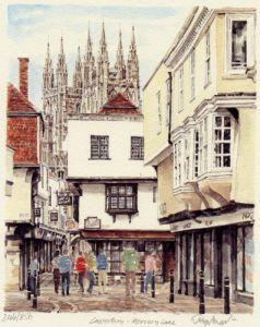 Canterbury - Mercery Lane by Glyn Martin