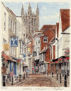 Canterbury - St. Margaret's St by Glyn Martin