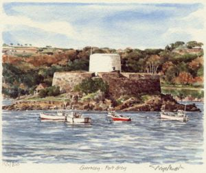 Guernsey - Fort Grey by Glyn Martin