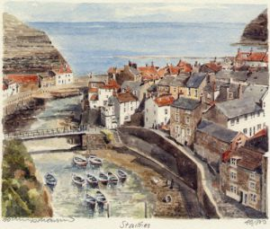 Staithes by Philip Martin