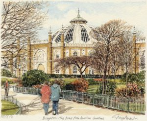 Brighton - Dome, Pavilion Gardens by Glyn Martin