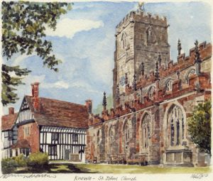 Knowle - Church by Philip Martin