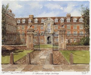 St. Catharine's College by Philip Martin