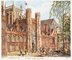 St. John's College by Philip Martin