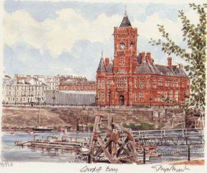 Cardiff Bay by Glyn Martin