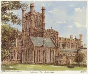 Chester Cathedral (2) by Philip Martin