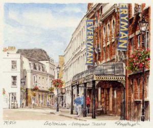 Cheltenham - Everyman Theatre by Glyn Martin