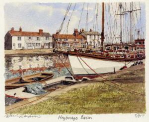 Heybridge Basin by Philip Martin