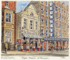 Northampton - Royal Theatre by Philip Martin