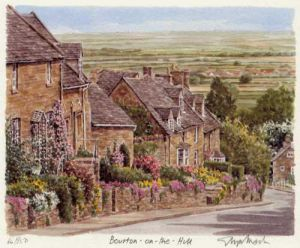 Bourton on the Hill by Glyn Martin