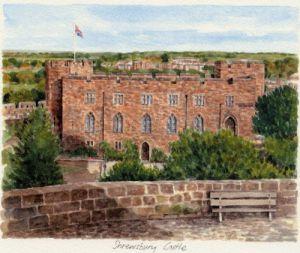 Shrewsbury Castle by Glyn Martin