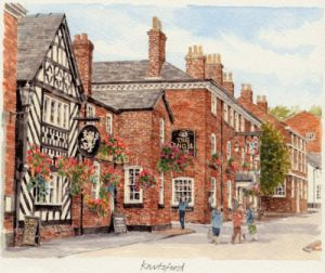 Knutsford - The Angel by Glyn Martin