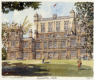 Wollaton Hall by Philip Martin