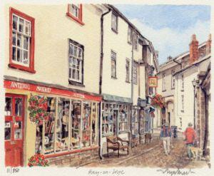 Hay on Wye (2) by Glyn Martin