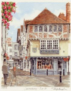 Canterbury - Sun Street by Glyn Martin