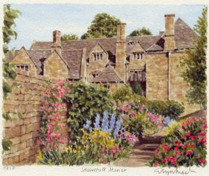 Snowshill Manor by Glyn Martin