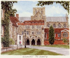 Winchester - The Deanery by Glyn Martin