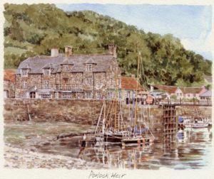 Porlock Weir by Glyn Martin