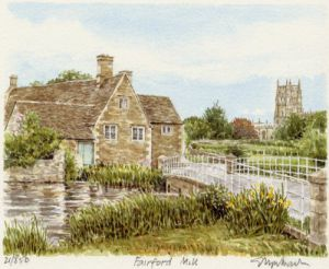 Fairford Mill by Glyn Martin