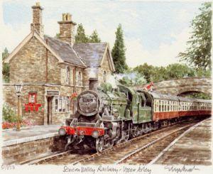 Severn Valley Railway - Upper Arley by Glyn Martin