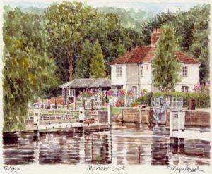 Marlow Lock by Glyn Martin