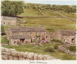 Dales Farmhouse by Glyn Martin