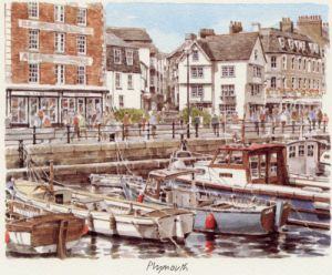 Plymouth - Barbican (3) by Glyn Martin