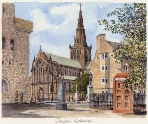 Glasgow Cathedral by Philip Martin