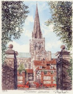 Chichester Cathedral by Glyn Martin