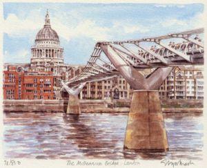 Millennium Bridge by Glyn Martin