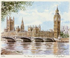 Palace of Westminster by Glyn Martin