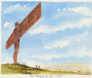 Gateshead - Angel of the North by Philip Martin