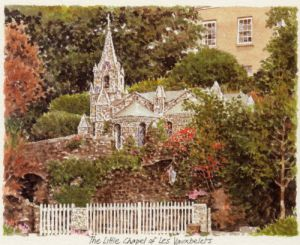 The Little Chapel of Les Vauxbelets by Glyn Martin