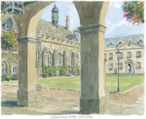 Peterhouse College - Cambridge by Philip Martin