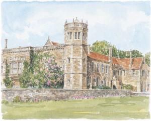 Lacock Abbey by Glyn Martin