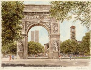 New York - Washington Square by Glyn Martin