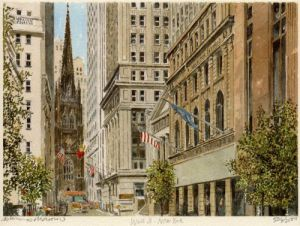 New York - Wall Street by Philip Martin