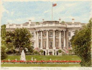 Washington - The White House by Glyn Martin