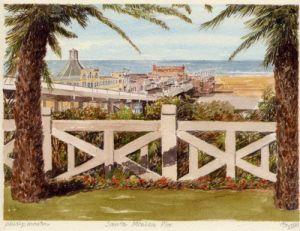 Santa Monica Pier by Philip Martin