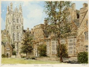 Yale University by Philip Martin