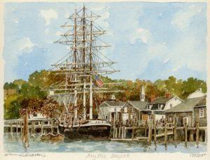 Mystic Seaport by Philip Martin