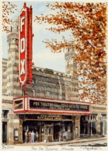 Atlanta - Fox Theatre by Glyn Martin