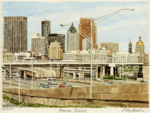 Atlanta - Skyline by Glyn Martin